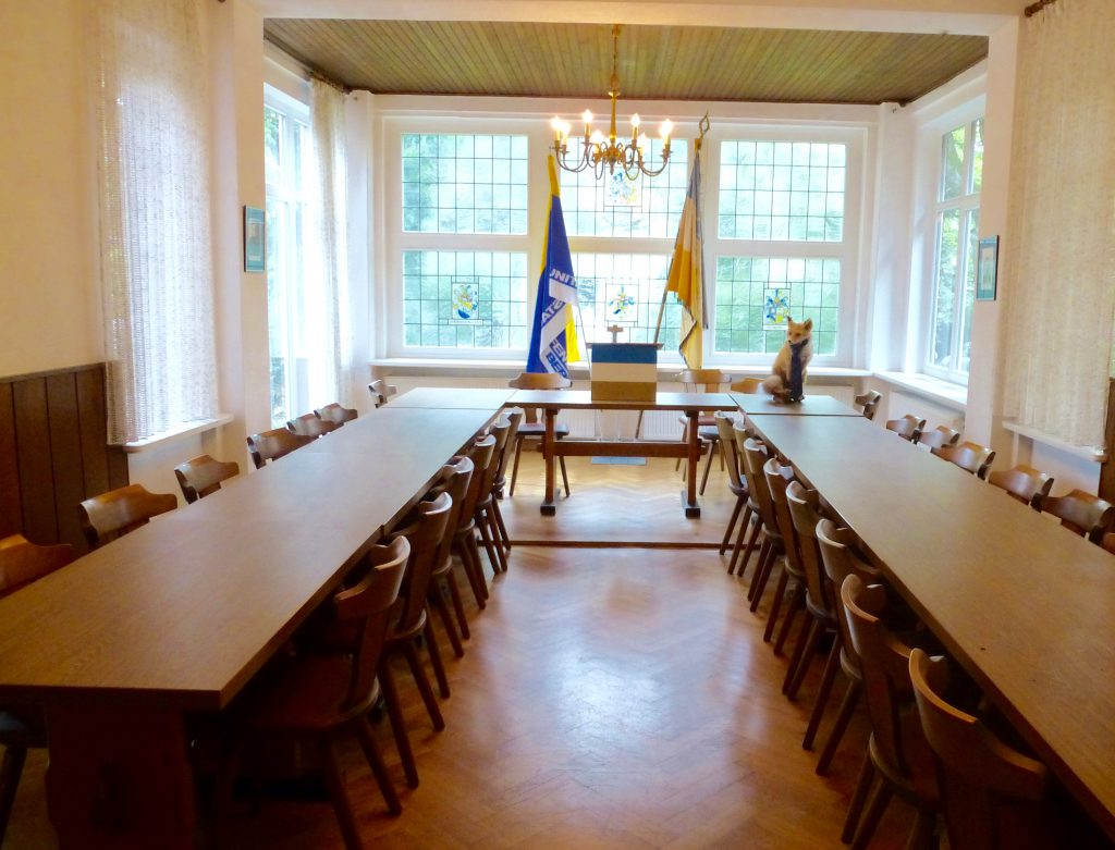 Unsere Vereinsraum für Veranstaltungen.
